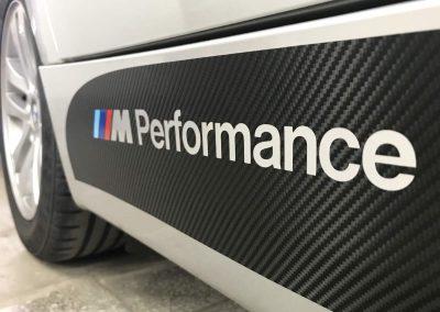 Drukarnia PerfectColor - Car Wrap - Stylizacje - BMW E90