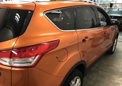 Drukarnia PerfectColor - Car Wrap - Zmiana koloru - Ford Kuga