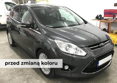 Drukarnia PerfectColor - Car Wrap - Zmiana koloru - Ford C-Max