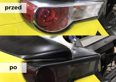 Drukarnia PerfectColor - oklejanie samochodów - Car Wrap - przyciemnianie lamp